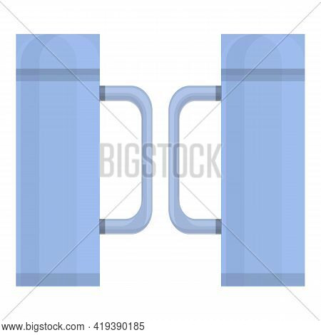 Entrance Smart System Icon. Cartoon And Flat Of Entrance Smart System Vector Icon For Web Design Iso