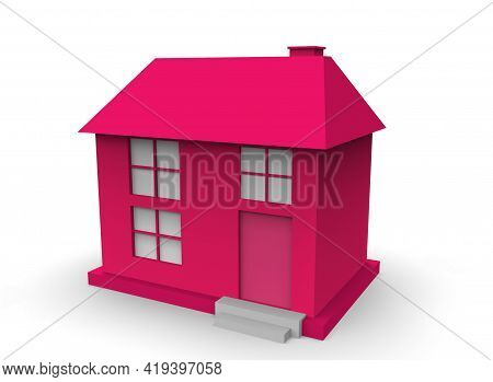 Cartoon Building 3d-illustration 3d-rendering Render Kid Color