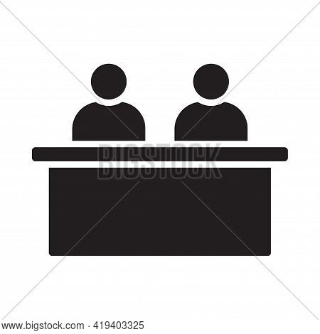 Executive Jury Team Icon Vector For Graphic Design, Logo, Web Site, Social Media, Mobile App, Ui Ill