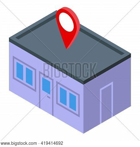 Marketing Placement Icon. Isometric Of Marketing Placement Vector Icon For Web Design Isolated On Wh