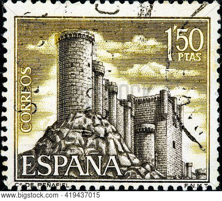 Spain - Circa 1968: A Stamp Printed In Spain From The