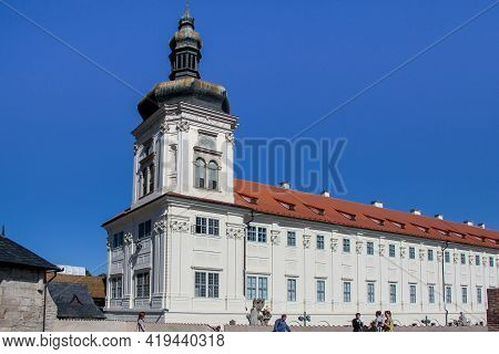Kutna Hora, Czech - April 28, 2012: This Is A Baroque Style Jesuit College Building (17th Century).