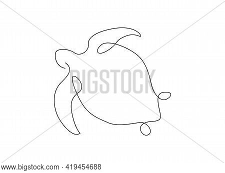 One Line Sea Turtle. Outline. Continuous Line. Lines Design. Line Art