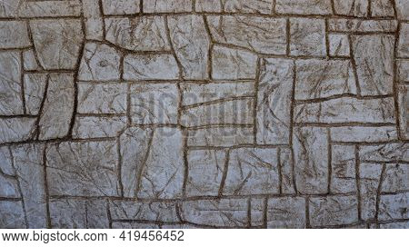 Decorative Stone Surface Graphic Resource With Abstract Pattern Lines, Stone Exterior Abstraction Sa