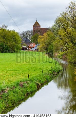 Historic Reformed Church In Termunten The Netherlands
