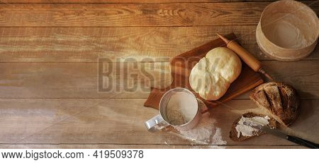Bread Is Black. Bread Slices. Narzen Bread. Bread Wood. Bread On The Table. Bread For The Background