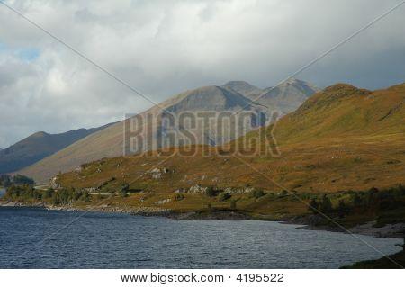 Scotland - Loch And Hills