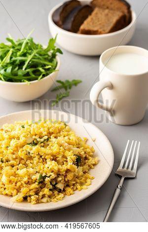 Delicious Bulgur Porridge