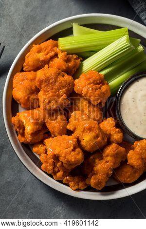 Homemade Fried Boneless Buffalo Chicken Wings