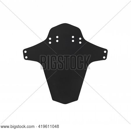 Mudguard For Mountain Bikes Isolated On White Background