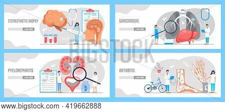 Polyarthritis, Arthritis, Sarcoidosis, Pyelonephritis Concept . Urarthritis, Cystitis