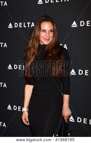 LOS ANGELES - FEB 7:  Kate del Castillo arrives at the Celebration of LA's Music Industry reception at the Getty House on February 7, 2013 in Los Angeles, CA