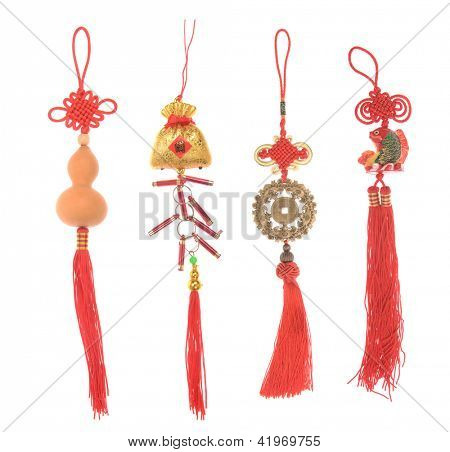 Chinese lucky knots used during spring festival