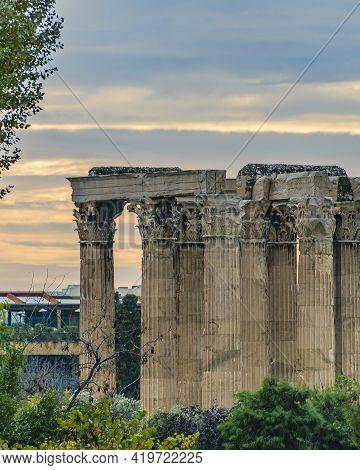 Olympic Zeus Temple, Athens Greece