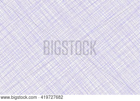 Purple White Lilac Vintage Background With Fabric Texture. Space For Creative Ideas And Graphic Desi