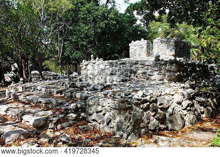 The Playacar Ruins Were A Launching Point For Maya Women To Honor The Goddess Ixchel On Cozumel Isla