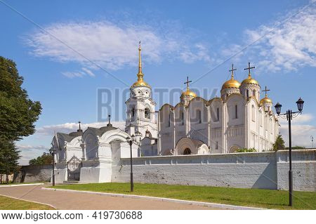 The Holy Dormition Cathedral In Vladimir. Russia