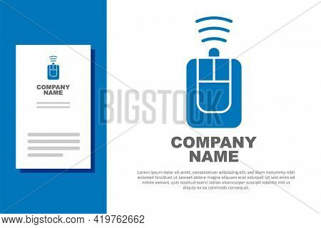 Blue Car Key With Remote Icon Isolated On White Background. Car Key And Alarm System. Logo Design Te