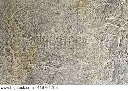 Abstract Dramatic Texture With Using Sponge Painting. Wall Sponging Design Technique