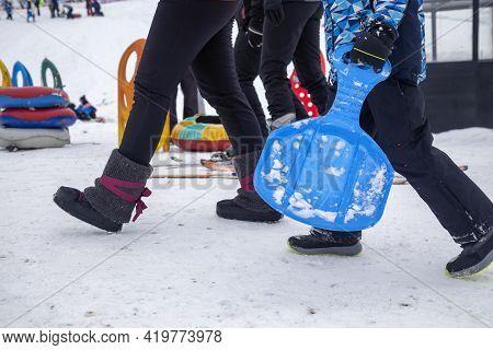 Outdoor Winter Fun Concept