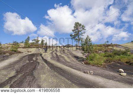 Himmelriket Is A Rocky Slope Near Gautefall