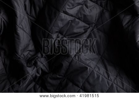 Creased Quilted Fabric Background 1