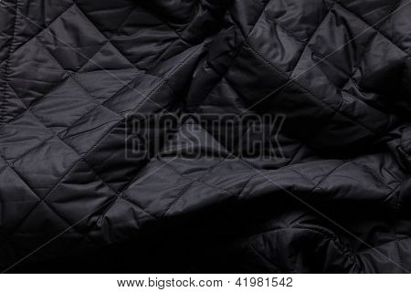 Creased Quilted Fabric Background 2