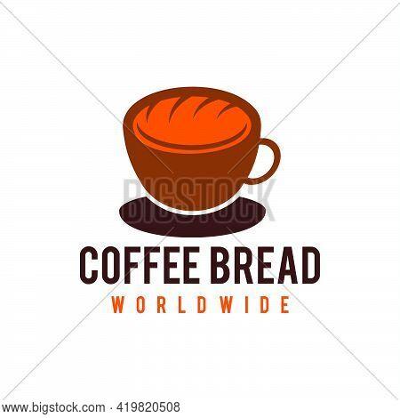 Bread Logo Badge Vector Icon Illustration