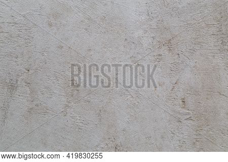 Flat Concrete Flattened Surface - Full Frame Background And Texture