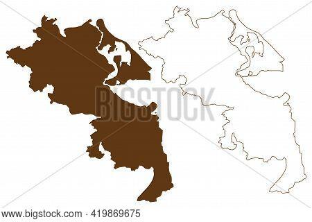 Vorpommern-greifswald District (federal Republic Of Germany, Rural District, State Of Mecklenburg-vo