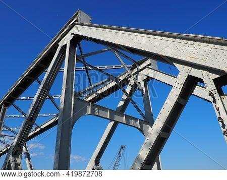 The Bridge In Racha Is The Name For The Road-railway Bridge On The River Sava Between Bih Republika