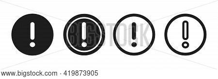 Information Vector Icons. Information Icon Isolated On White Background. Info Simple Black Vector Ic