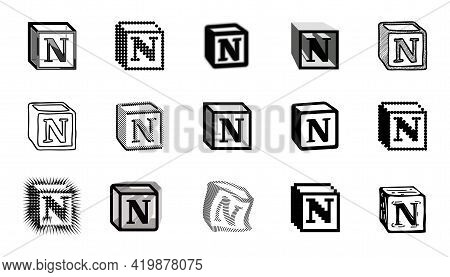 Notion Icons In Different Styles. Flexibility And Customization Of The Application. Organization Of