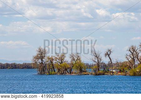 Barr Lake State Park, In Brighton, Colorado