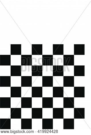 Chessboard And Checkerboard Black And White Squares