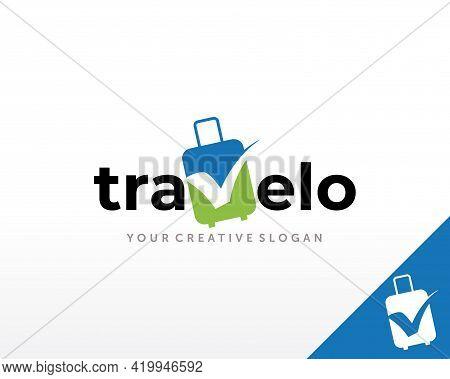 Travel Logo Design. Travel Agency Logo Vector Inspiration Template