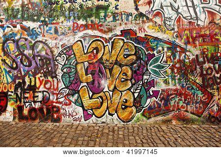 Love On The Lennon Wall
