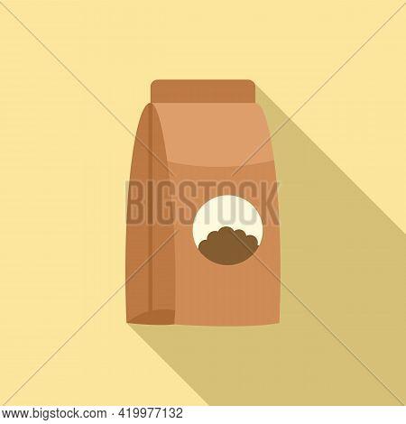 Manure Fertilizer Icon. Flat Illustration Of Manure Fertilizer Vector Icon For Web Design