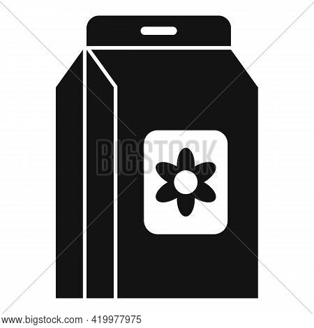 Flower Compost Icon. Simple Illustration Of Flower Compost Vector Icon For Web Design Isolated On Wh