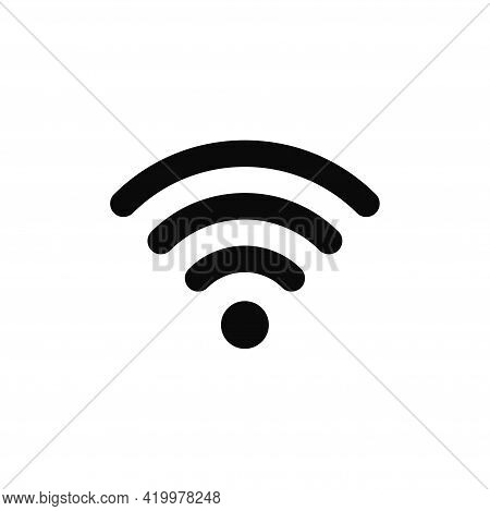 Wifi Icon Isolated On White Background. Wifi Icon In Trendy Design Style For Web Site And Mobile App
