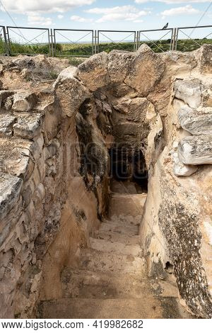 The Excavations Of The Entrance Of The Economic Cave - Columbarium - A Dovecote Near The Excavations