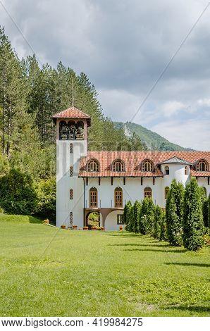 Visegrad, Bosnia, August 16, -  Bosnia And Herzegovina, 2014: Orthodox Monastery Dobrun Near Visegra