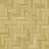 Smooth Wood Parquet Clean Floor Tiles Background poster