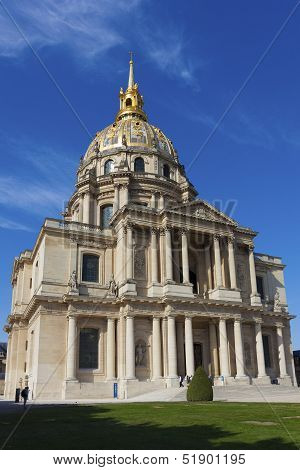 Les Invalides Paris Ile de France France poster