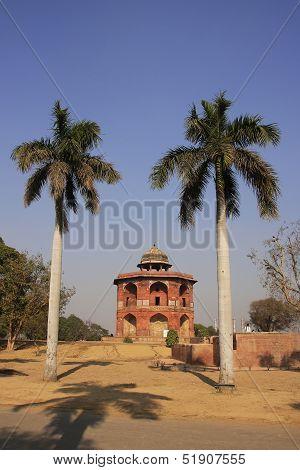 Humayuns private library Purana Qila New Delhi India poster