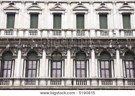 Architecture In San Marco Plaza In Venice