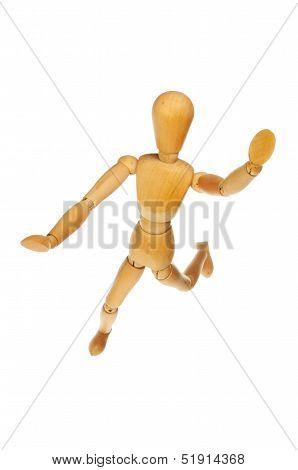 Leaping Mannikin