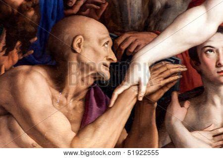 Detail Of Bronzino Painting