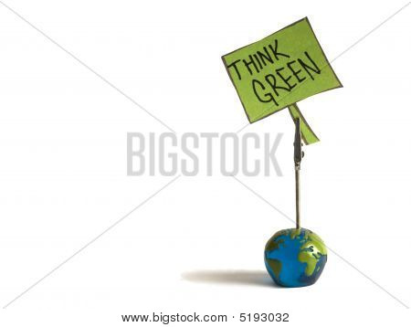 Think Green Note