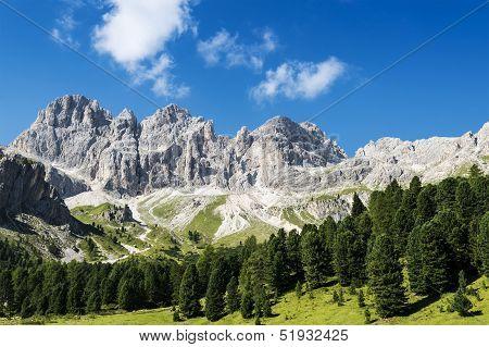Dolomiti Mountains Panorama